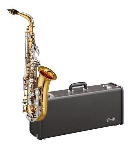 Yamaha Yas-26 Saxofon Alto Estandar Eb Con Estuche