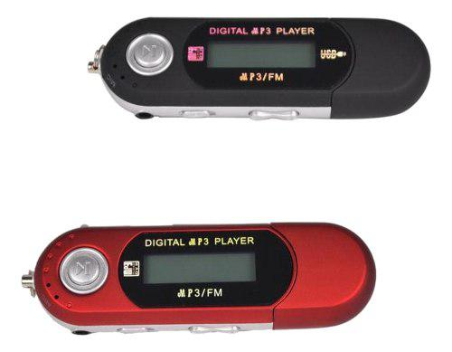 2 Piezas De Reproductor De Mp3 Mp4 Usb 4gb Audio Música