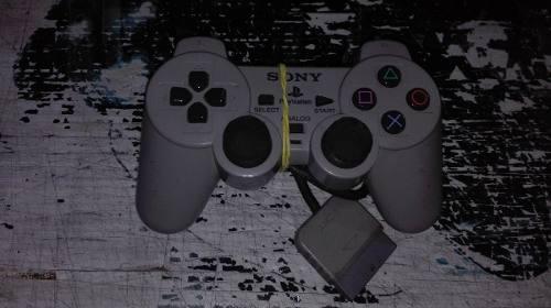Control Original Color Gris Dual Shock Para Play Station 1