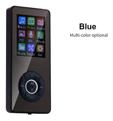 Reproductor De Mp3 Bluetooth Mp4 Media Radio Fm Grabadora De