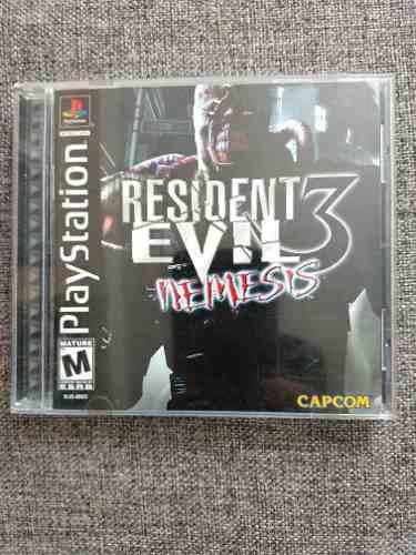 Resident Evil 3: Nemesis Original Para Play Station 1