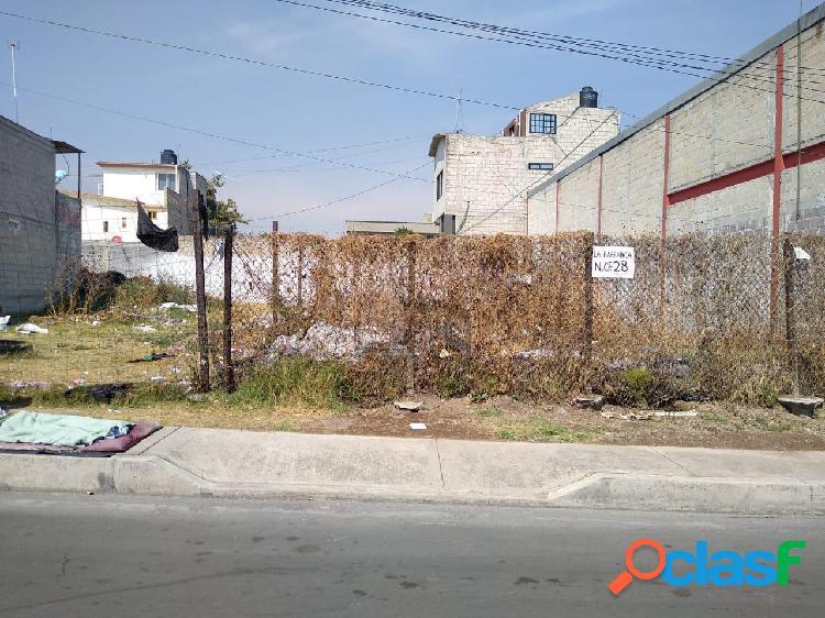 Terreno habitacional en venta en San Cristóbal Centro,