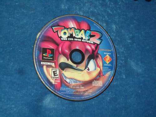 Tomba 2 Para Ps1 Solo Disco