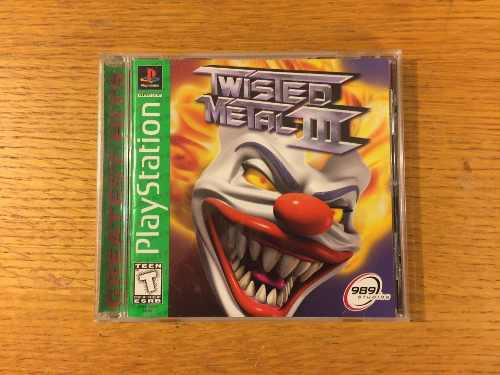 Twisted Metal 3 Iii Ps1 Ps2 Ps3 Playstation 1 Colección
