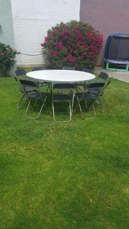 En Venta - Tablones, Mesas redondas y sillas. Mobiliario