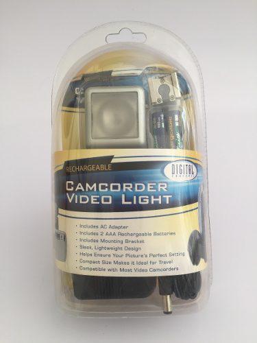 Luz Para Videocámara, Vintage Retro, Digital Concepts