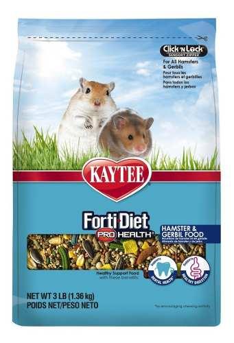 Alimento Para Hamster Y Herbo Forti Diet Kaytee 1.36kg O 3lb