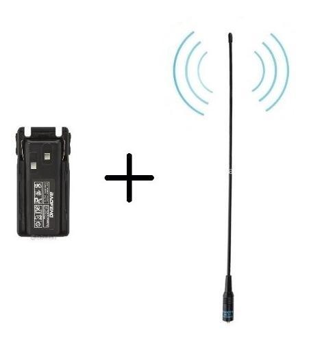 Bateria 2800 Mah Baofeng Uv-82 + Antena Nagoya Na-701