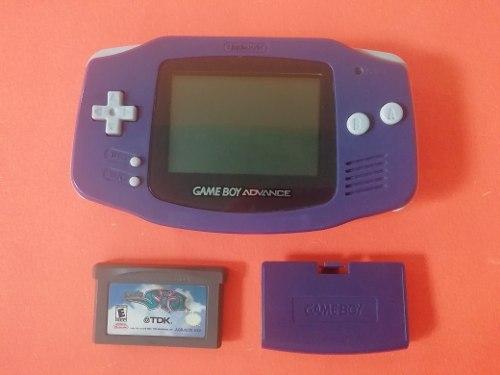 Game Boy Advance Morado Con Juego De Lady Sia Original