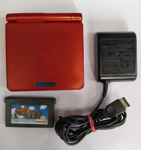 Game Boy Advance Sp Con Juego Funcionando.