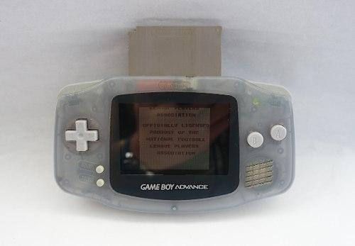 Gameboy Advance Morado Gba + Juego