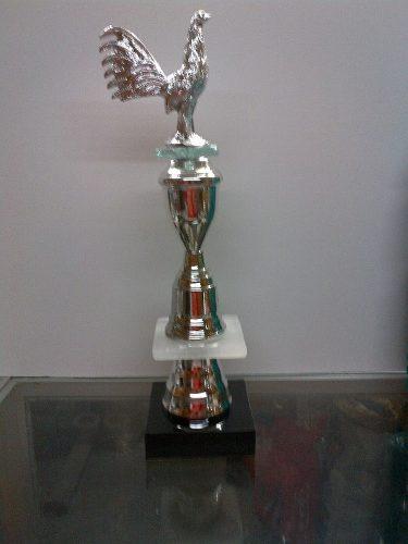 Trofeo De Gallo Mini Copa De 45 Cm De Altura