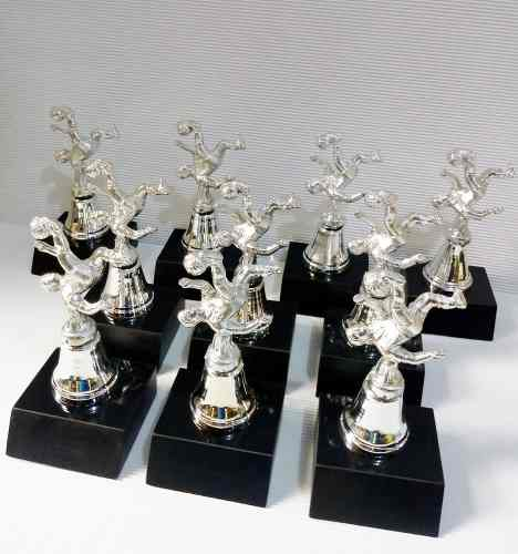 Trofeos De Futbol Individuales 10 Piezas