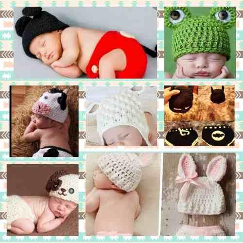 Conjunto De Bebe Tejido A Crochet