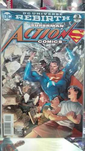 Dc Cómics Superman Action Cómics Rebirth #3