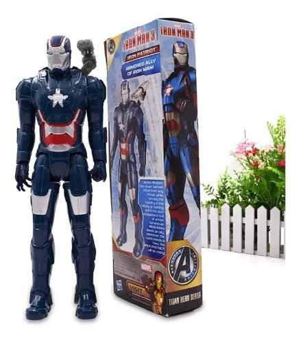 Iron Man Peli 3 Avengers Original En Caja 30 Cm Coleccion