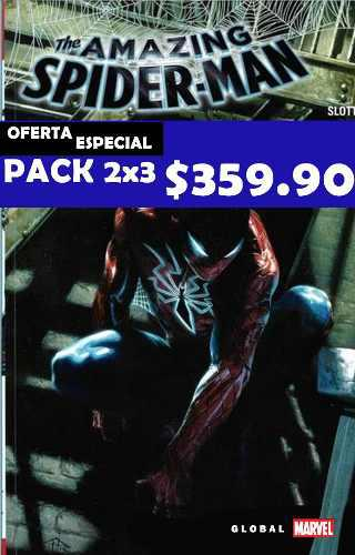 The Amazing Spiderman Pack 3x2 1, 2, 3