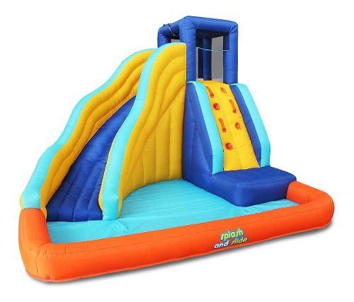 Brincolin De Agua Splash And Slide, Nuevo
