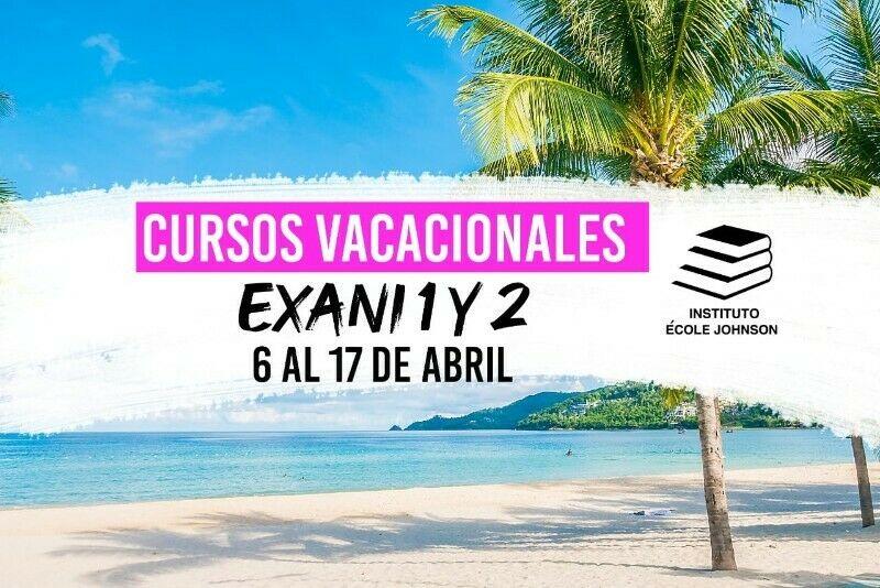 CURSOS INGRESO UNIVERSIDAD- EXANI-2-Mérida, Yucatán