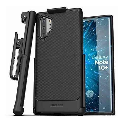 Encased Galaxy Note 10 Plus - Funda Con Clip Para Cinturón