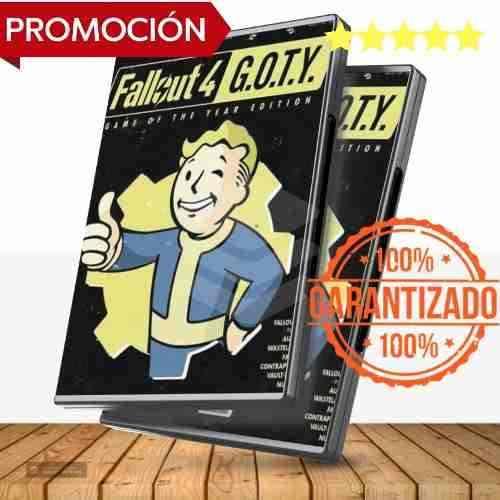 Fallout 4 Edición Juego Del Año + Expansiones - Juegos Pc