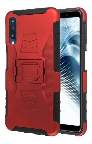 Funda Clip + Cristal Protector Galaxy A70 Sm-a705mn