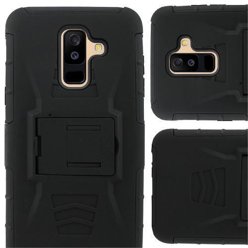 Funda Protector Uso Rudo Clip Samsung A7 2018 Oferta Calidad
