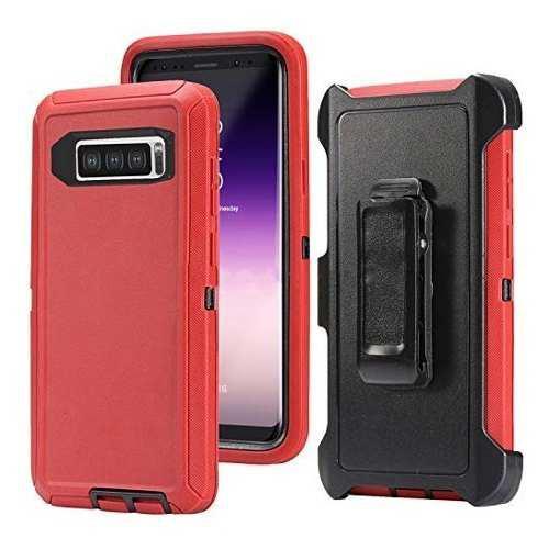 Funda Uso Rudo Otter Box Samsung Note 10 Plus Con Clip