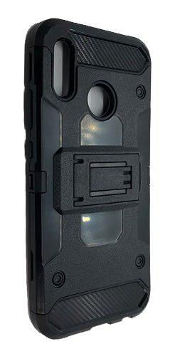 Funda Uso Rudo Robot Case Con Clip iPhone X | Xs + Vidrio
