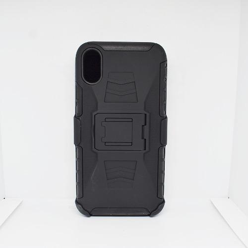 Funda iPhone X Apple Uso Rudo Clip Cinturon Protector