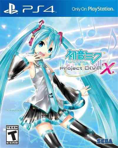 Hatsune Miku: Proyecto Diva X - Playstation 4