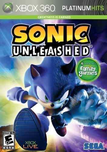 Juego Sonic Unleashed (platinum Hits) Para Xbox 360 Sellado