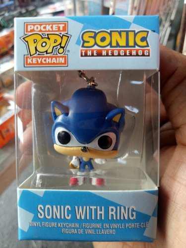 Llavero Funko Pop Sonic The Hedgend Sega Envio Gratis
