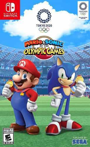 Mario & Sonic At The Olympic Games Tokyo2020 Nintendo Switch