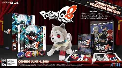 Nintedo 3ds Persona Q2 New Cinema Labyrinth Premium Edition