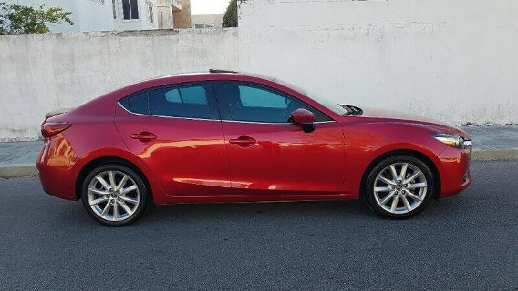 OPORTUNIDAD! MAZDA 3 SEDAN 2017 STD 4CIL SPORT DE LUJO FULL