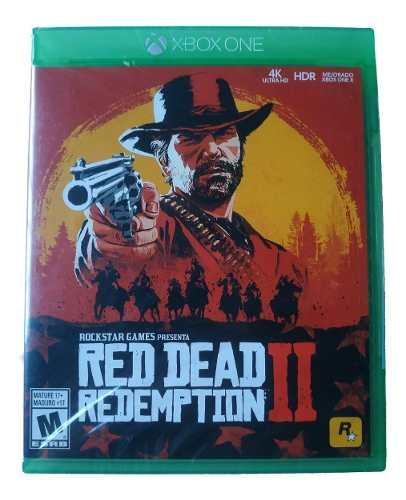 Red Dead Redemption 2 Xbox One Nuevo Sellado Envio Gratis