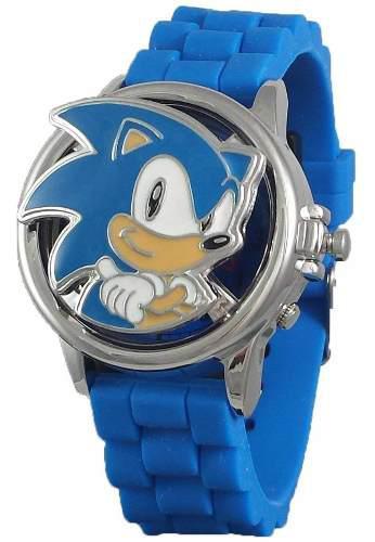 Reloj Sonic Spinner Lcd Digital Original
