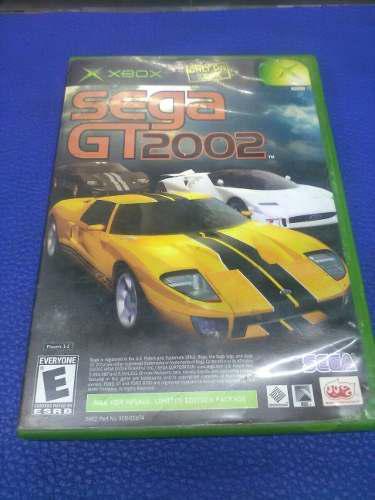 Sega Gt 2002 Jsrf De Xbox Clasico