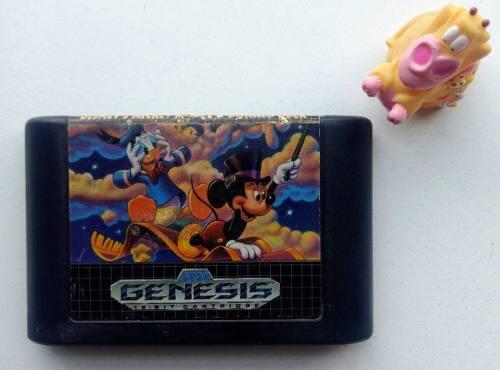 World Of Illusion Sega Genesis * Mundo Abierto Vg *