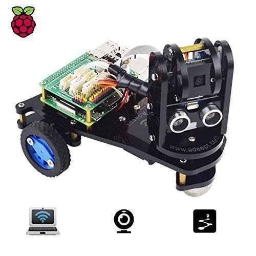 Adeept Picara Wifi Inalámbrico 3wd Kit De Coche Para Robot