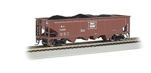 Bachmann Industries 40 Quad Hopper Rock Island Car Ho Escala