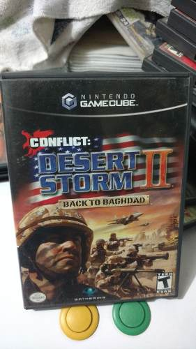 Conflict Desert Storm 2 Back To Bagdad Nintendo Gamecube