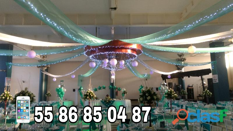 Decoraciones con globos Y Luces