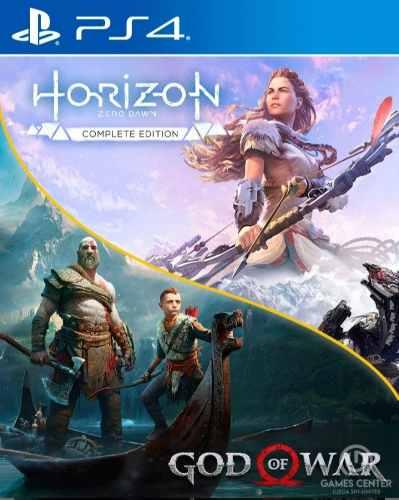 God Of Wars 4 Y Horizon Zero Dawn Complete Edition Ps4
