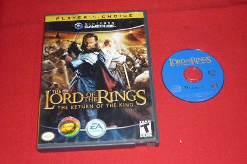 * Longaniza Games * Game Cube Lord Of The Rings Return Of Th