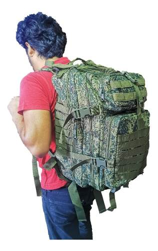 Mochila Militar Tactica Portalap Viaje Camping 45 Lts