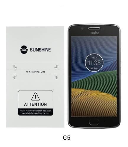 Motorola Mica Hidrogel Nano Pelicula Protección Moto Varios