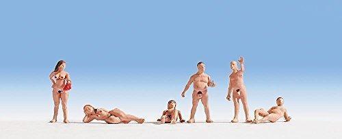 Noch 15843 Nudists 6 / H0 Escala De Figuras
