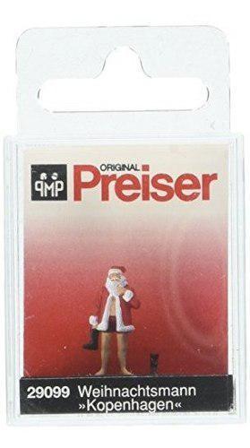 Preiser 29099 Holiday Santa Claus Vestirse Con La Figura Del